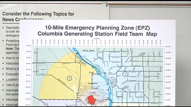 CGS Emergency Planning Zone: 10 mile