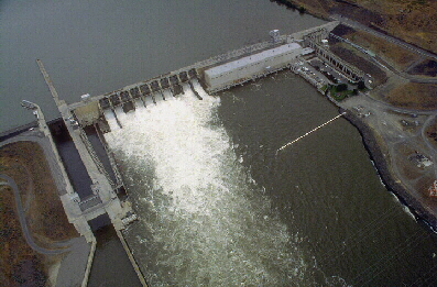Ice Harbor Dam (USACE Digital Visual Library)